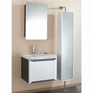 armoire salle de bain miroir 60 cm With miroir salle de bain 60 cm