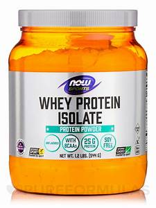 Now U00ae Sports - Whey Protein Isolate  Unflavored