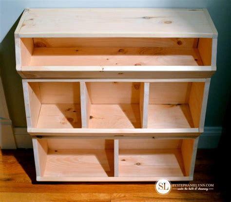 build  toy storage bin wooden storage bins toy storage
