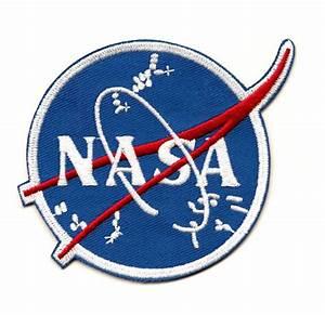 NASA Logo Gemini Era Embroidered Patch 3 Version