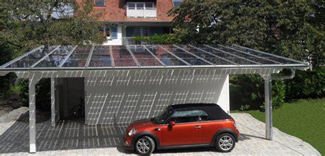 Carport Neben Garage by Solarcarport Die Garage Wird Zum Energielieferanten