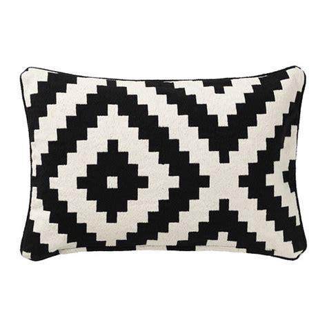 black and white pillows ikea lappljung ruta cushion cover ikea