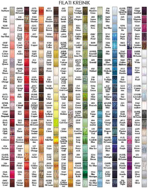 dmc color chart pdf tabella conversione filati dmc light effects filati