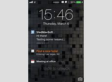 Reminders for Lockscreen TheBigBossorg iPhone