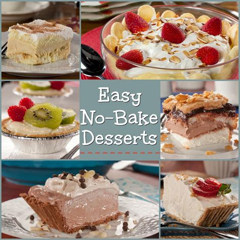best easy dessert recipes easy no bake desserts everydaydiabeticrecipes com