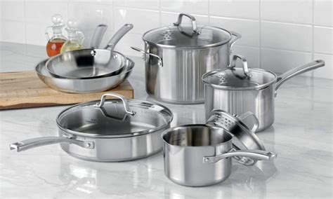 stainless cookware steel sets tips buying market kitchenware comparison