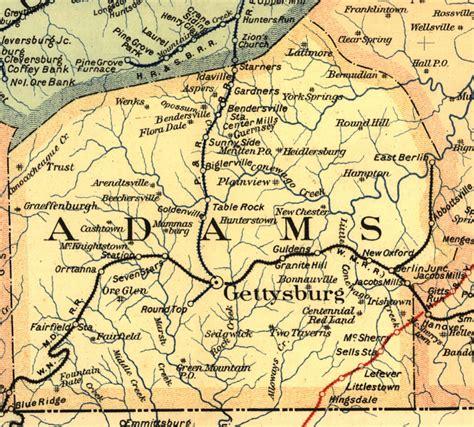 adams county pennsylvania railroad stations