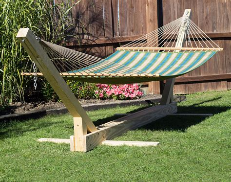 4x4 Hammock Stand by Treated Pine Hammock Stand