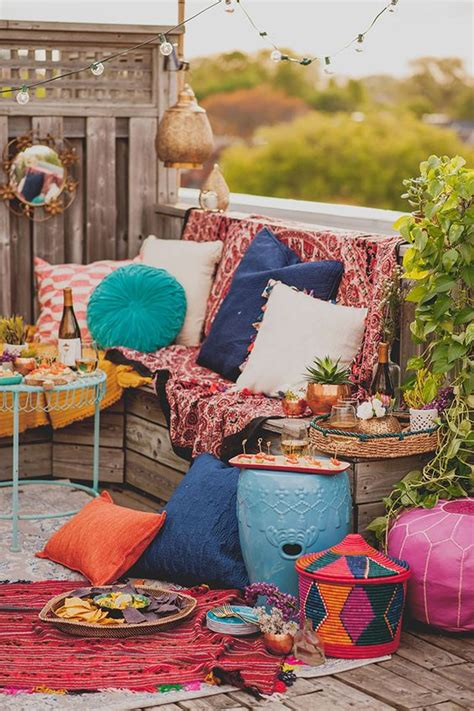 Top 16 Beauty Bohemian Patio Designs – Easy Decor Project
