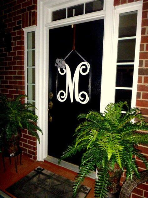 personal favorite   etsy shop httpswwwetsycomlistinginitial door wreath