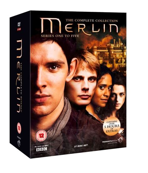 merlin complete collection box set typecast