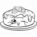 Shopkins Coloring Pancake Cake Shopkin Sheets Season Colouring Fran Pancakes Printable Characters Cartoon Scribblefun Happy Rare Colour Getcolorings Needle Punch sketch template