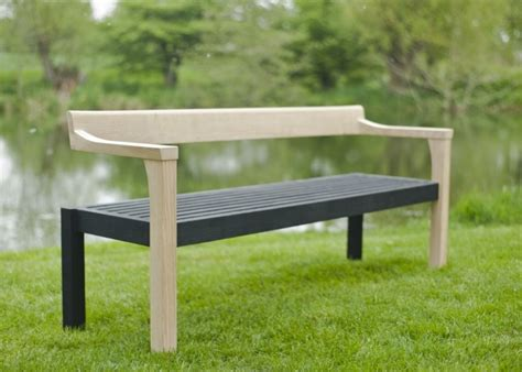 Sitting Bench by Contemporary Garden Furniture Sitting Spiritually