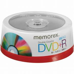 Double Layer Dvd : memorex dvd r double layer discs 05712 b h photo video ~ Kayakingforconservation.com Haus und Dekorationen