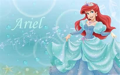 Mermaid Backgrounds Wallpapers Ariel Princess Desktop Disney