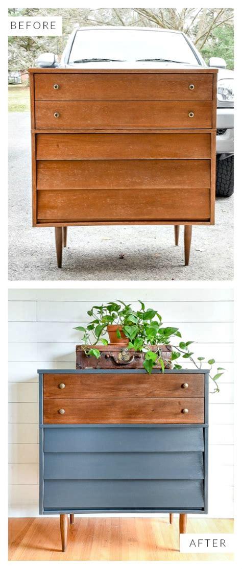 queenstown gray  wood mid century modern dresser