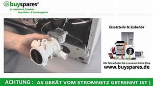 Spülmaschine Holt Kein Wasser : wie wechselt man die absaugpumpe einer waschmaschine aus youtube ~ Frokenaadalensverden.com Haus und Dekorationen