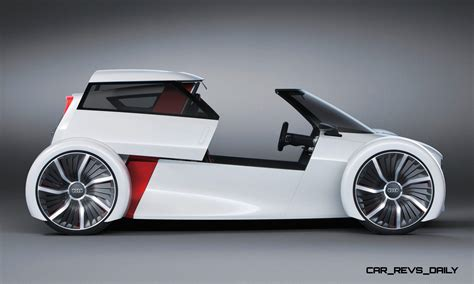 2011 Audi Urban Concept Is 2seat Commuter Ev For Stylish