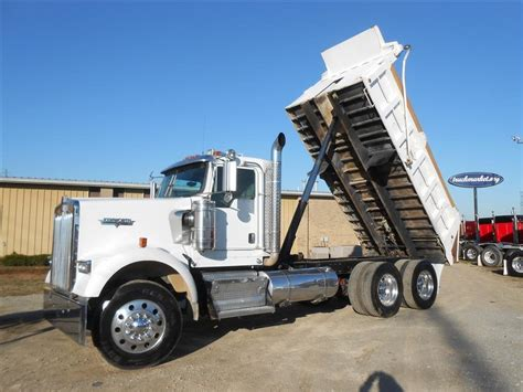 used kenworth w900 dump trucks sale used 2009 kenworth w900 clean with pintle h dump truck for