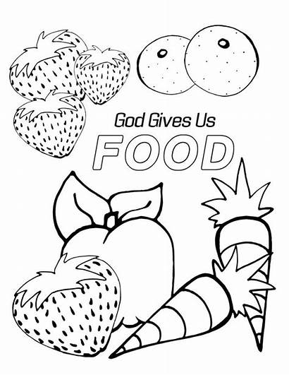 Coloring Pages Preschool God Bible Sunday Sheets