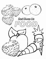 Coloring Pages Preschool God Bible Sunday Sheets Gives Printable Children Preschoolers Crafts Healthy Gave Animals Elementary Lessons Lesson Special Fun sketch template