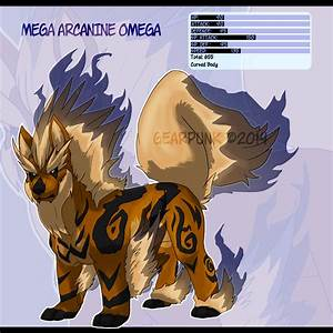 Mega Arcanine Omega by Gearpunk on DeviantArt