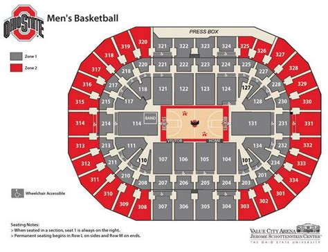 ohio state basketball creating student section closer  court  improve atmosphere clevelandcom