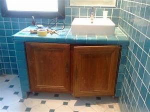 meuble salle de bain a faire soi meme With salle de bain fait soi meme