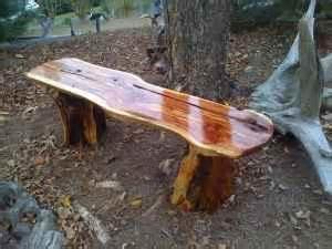 wooden utility bench natural cedar wood natural wood bench