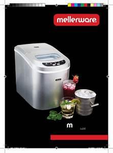 Mellerware Ice Maker Icm00ia User Guide