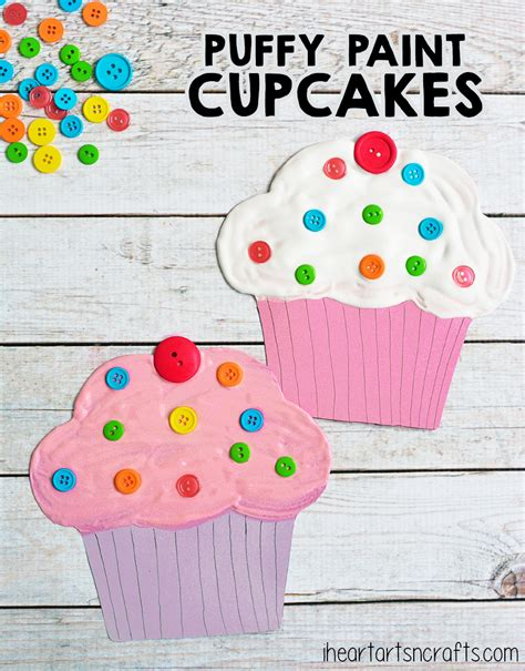 paint cupcake craft for crafts cupcake 237 | cf17a05639eea47a02f2ac6583c7ef77