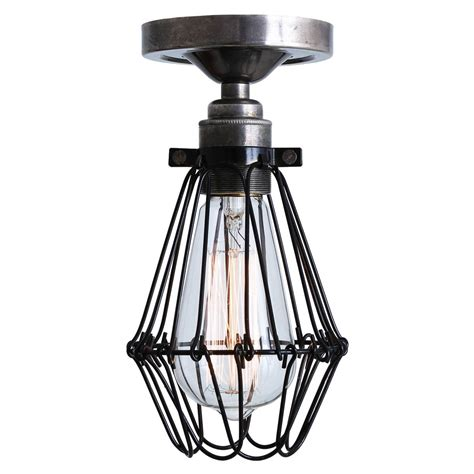 cage ceiling light apoch flush cage ceiling light mullan lighting