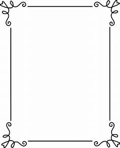 Elegant Wedding Border Clipart - Clipart Suggest