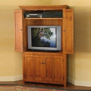 tv hutch with doors 1000 ideas about corner tv cabinets on corner