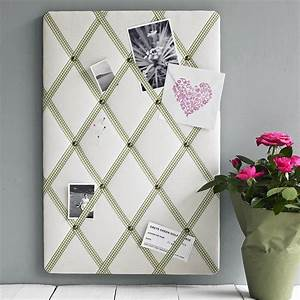 Pins Selber Machen : cream linen noticeboard by pins and ribbons ~ Watch28wear.com Haus und Dekorationen
