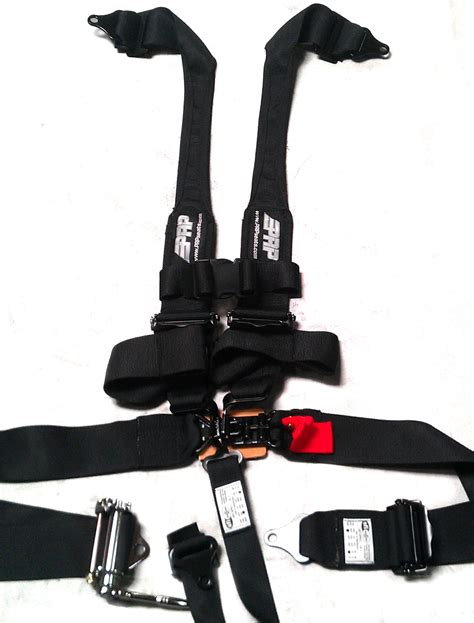5 point harness ratcheting harness with hans straps prp seats