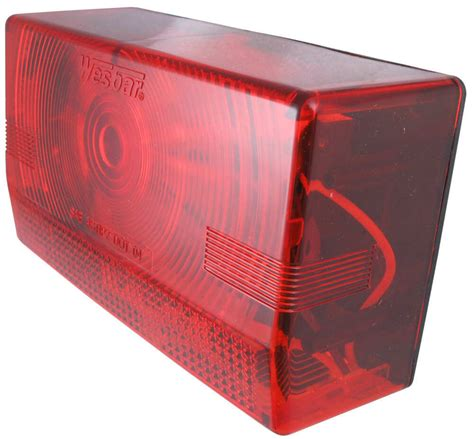 Wesbar Lights by Wesbar Submersible Trailer Light Left Side Wesbar