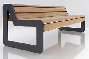 Banc Design Interieur : mobilier urbain bancs exterieurs bancs publics banc et si ge d 39 ext rieur moderne 01 79 ~ Teatrodelosmanantiales.com Idées de Décoration