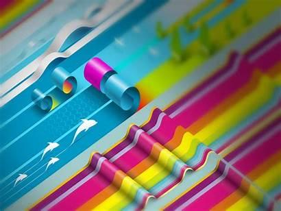 Colorful 3d Wallpapers Creative Pixelstalk