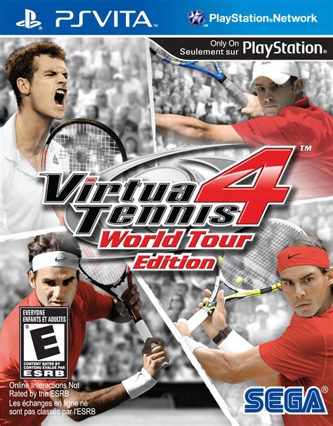 It's about the angle of the racquet, the spin and speed of the ball and the power of the shot. Virtua Tennis 4 Release Date (Vita, Xbox 360, PS3, Wii)