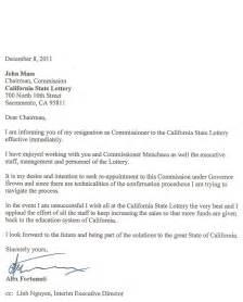 Formal Resignation Letter Career Change | Warranty Reserve ...