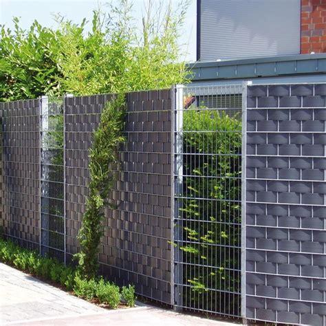 Sichtschutz Garten Bilder by Sichtschutzzaun Sichtschutz Aus Gitter Verzinkt Im Garten