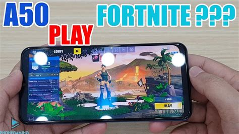 samsung galaxy  play fortnite mobile youtube