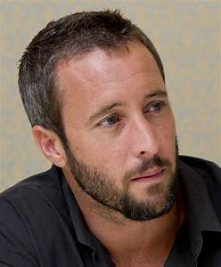 Alex OLoughlin It Is A Piece About Hair Or Is It A