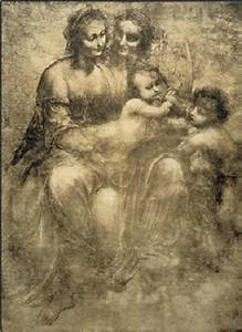 The Virgin and Child with St Anne and St John the Baptist ...
