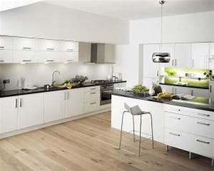 white modern kitchen cabinets - TjiHome