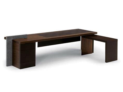 Executive Desk H_o Desk By Poltrona Frau Design Claudio