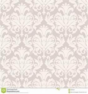 Damask wallpaper pattern stock vector. Illustration of ...