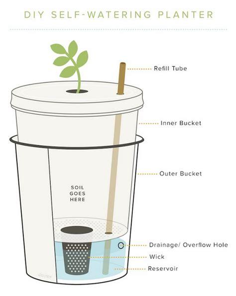 diy self watering planter american preppers network