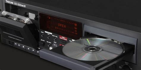 Cd Cassette Recorder by Tascam Cd And Cassette Deck Recorder Mcquade